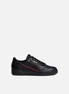 Adidas Originals - Continental 80, Core Black/Scarlet/Collegiate Navy