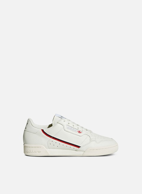 sneakers adidas originals continental 80 running white off white scarlet