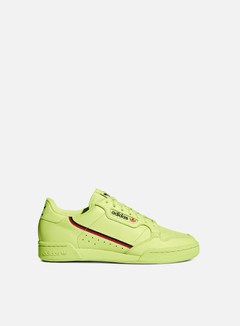 Adidas Originals - Continental 80, Semi Frozen Yellow/Scarlet/Collegiate Navy
