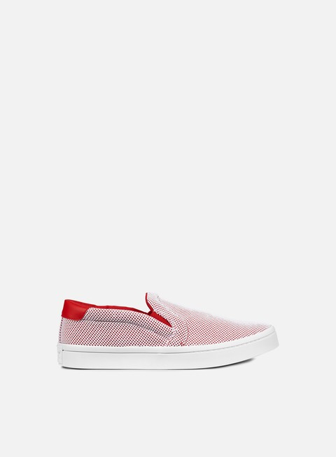 sneakers adidas originals court vantage adicolor collegiate red white collegiate red