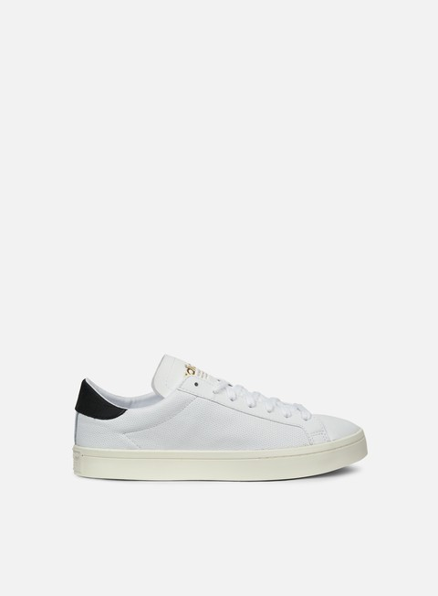 sneakers adidas originals court vantage white white core black