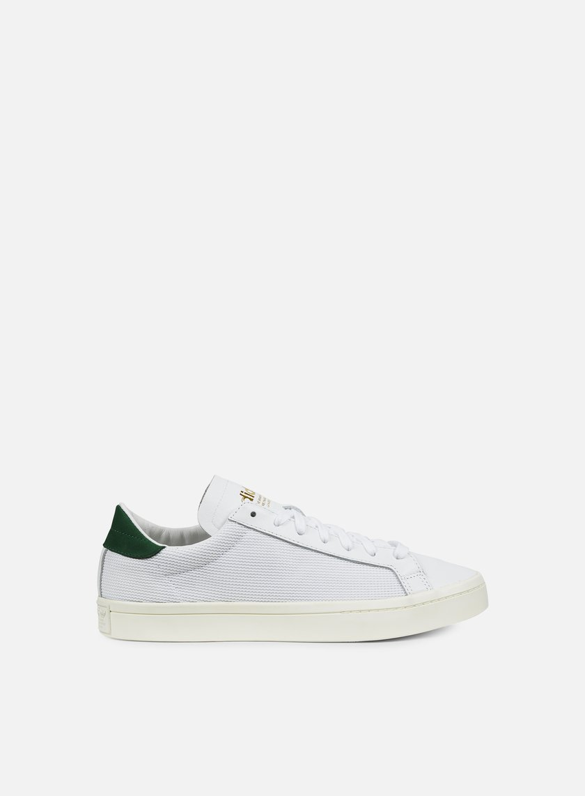 Adidas Originals - Court Vantage, White/White/Green