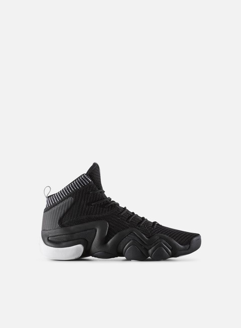 sneakers adidas originals crazy 8 adv primeknit core black core black white