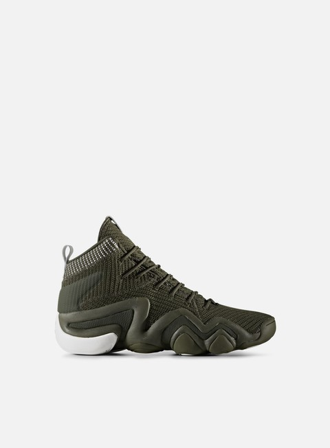 sneakers adidas originals crazy 8 adv primeknit night cargo night cargo white