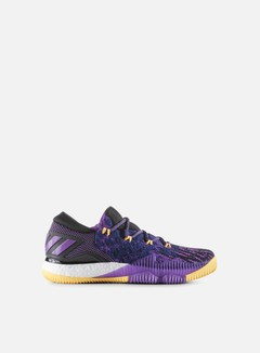 Adidas Originals - Crazy Boost Low 2016, Shock Purple/Solar Gold/Core Black 1