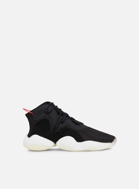 sneakers adidas originals crazy byw core black ftwr white bright red