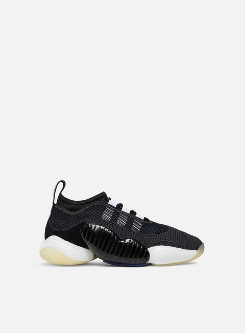 sneakers adidas originals crazy byw ii core black real purple ftwr white