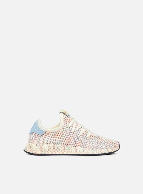 sneakers adidas originals deerupt pride cream white ash grey core black