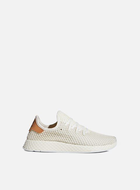 sneakers adidas originals deerupt runner cloud white ash pearl white