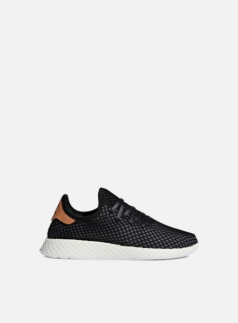 sneakers adidas originals deerupt runner core black core black ash pearl
