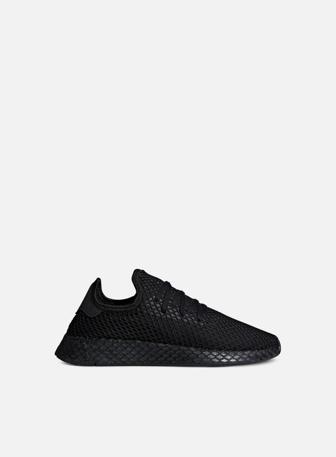 sneakers adidas originals deerupt runner core black core black ftwr white