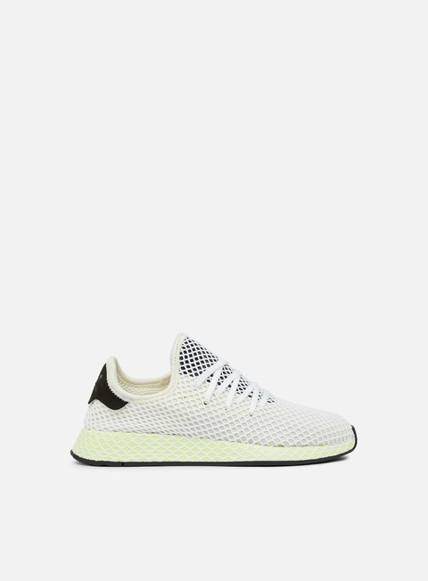 sneakers adidas originals deerupt runner core white core black core black