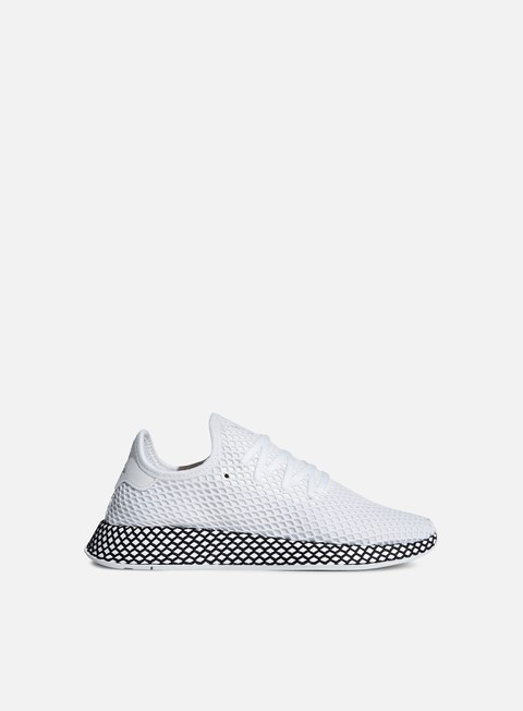 sneakers adidas originals deerupt runner ftwr white ftwr white core black