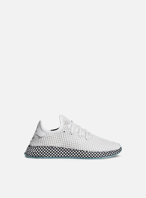 sneakers adidas originals deerupt runner grey one grey one clear mint