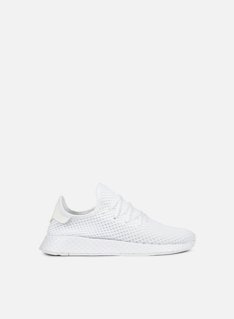 sneakers adidas originals deerupt runner white white white