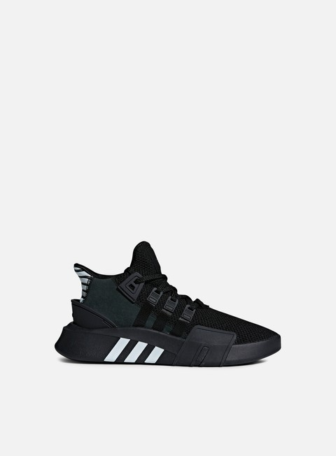 sneakers adidas originals eqt bask adv core black core black blue tint