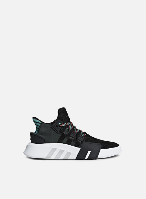sneakers adidas originals eqt bask adv core black core black sub green