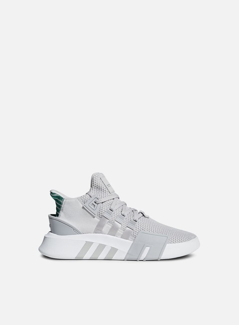sneakers adidas originals eqt bask adv grey one grey one sub green