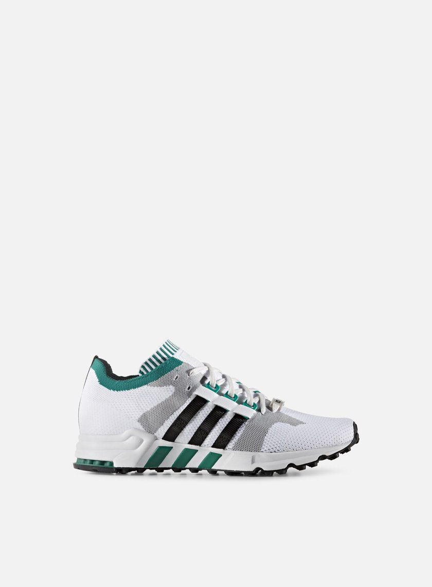 Adidas Originals - Equipment Cushion 93 Primeknit, Vintage White/Core Black/Sub Green