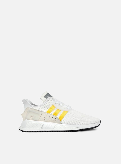 sneakers adidas originals equipment cushion adv white eqt yellow silver metallic