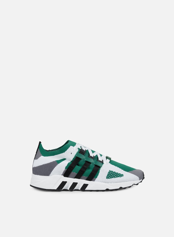 Adidas Originals - Equipment Running Guidance Primeknit, Grey/Core Black/Sub Green