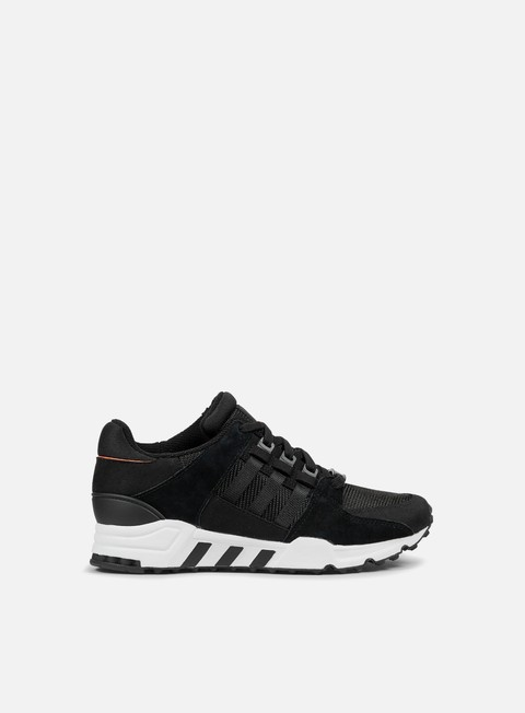 sneakers adidas originals equipment running support core black core black running white