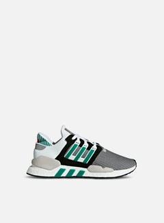 Adidas Originals - Equipment Support 91/18, Core Black/Clear Granite/Sub Green