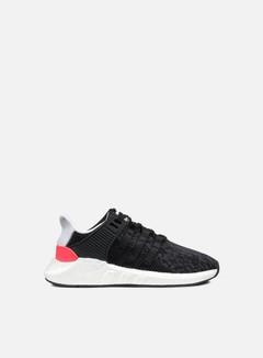 Adidas Originals - Equipment Support 93/17, Core Black/Turbo Red 1