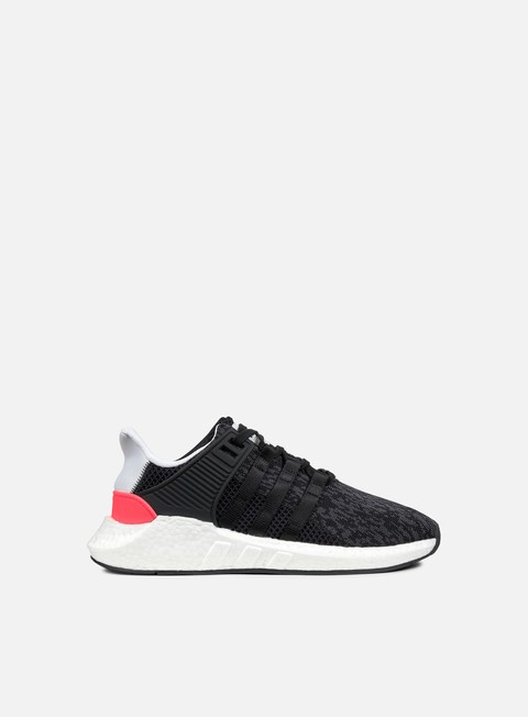 sneakers adidas originals equipment support 93 17 core black turbo red