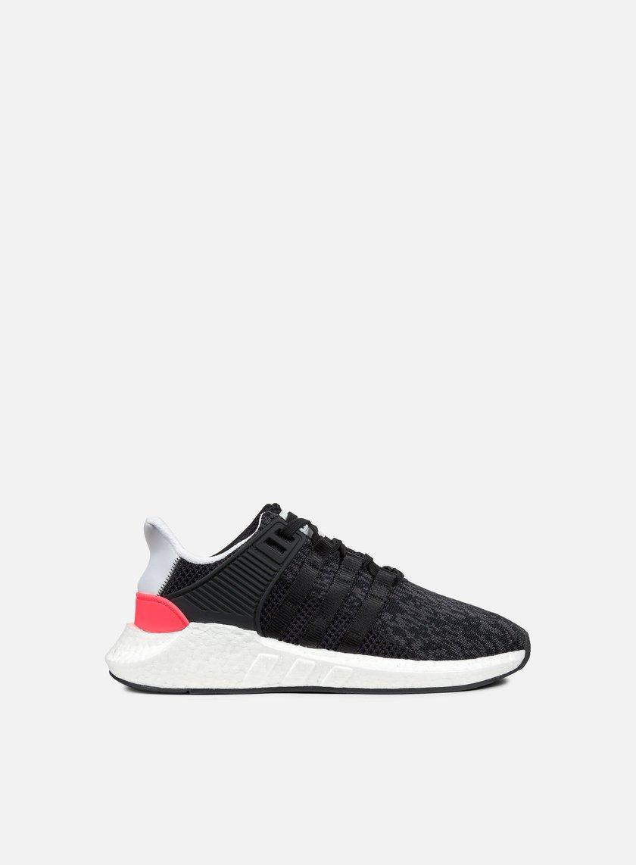 Adidas Originals - Equipment Support 93/17, Core Black/Turbo Red