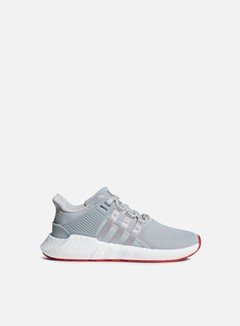 Adidas Originals - Equipment Support 93/17, Matte Silver/Matte Silver/White