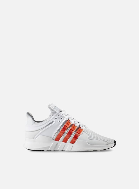 sneakers adidas originals equipment support adv clear grey bold orange white