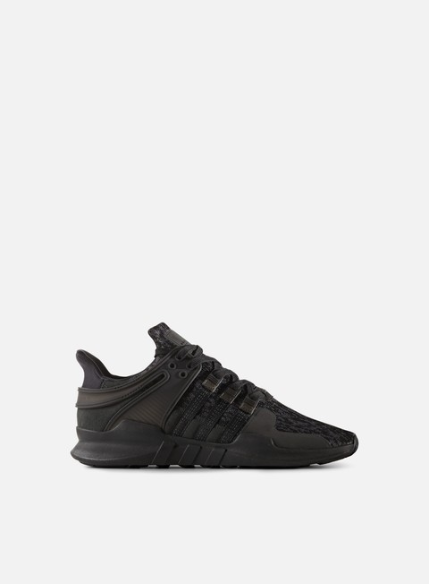 sneakers adidas originals equipment support adv core black core black sub green