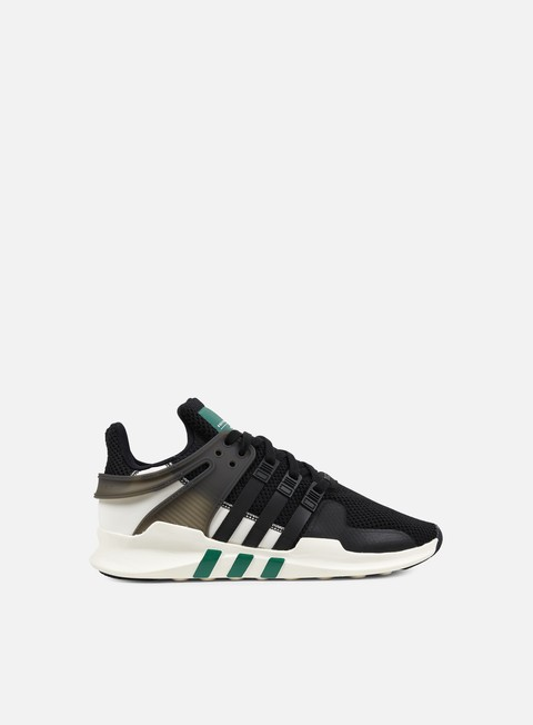 sneakers adidas originals equipment support adv core black sub green dgh solid grey