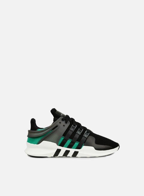 sneakers adidas originals equipment support adv core black sub green vintage white