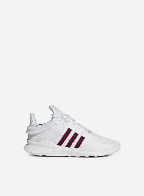 sneakers adidas originals equipment support adv crystal white collegiate navy scarlet