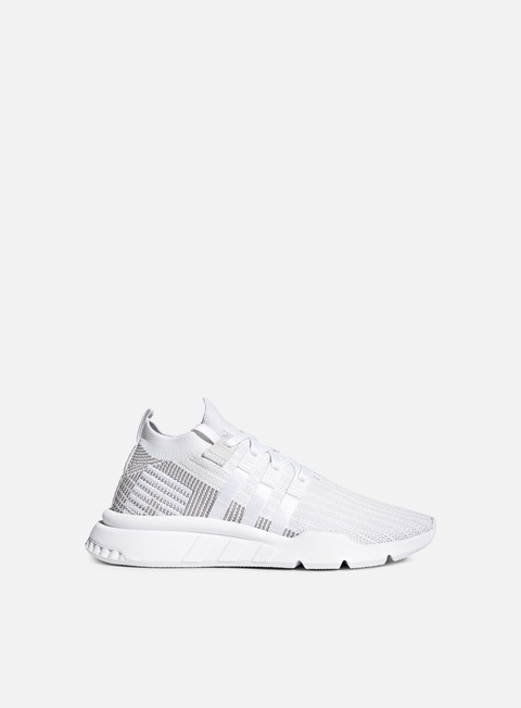 sneakers adidas originals equipment support adv mid primeknit ftwr white ftwr white grey one