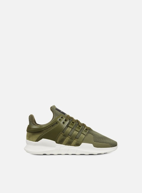sneakers adidas originals equipment support adv olive cargo olive cargo red