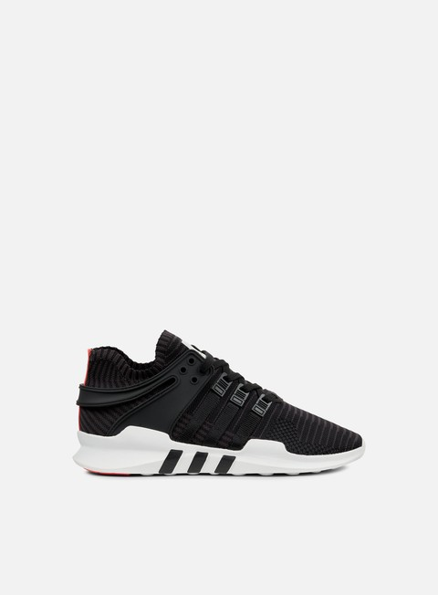 sneakers adidas originals equipment support adv pk core black turbo red