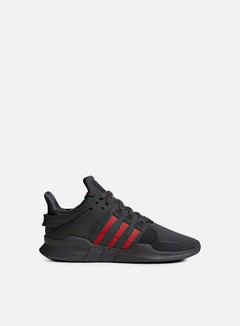 Adidas Originals - Equipment Support ADV, Utility Black/Scarlet/Collegiate Green