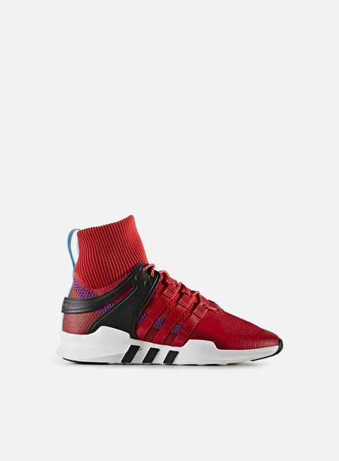sneakers adidas originals equipment support adv winter scarlet scarlet shock purple