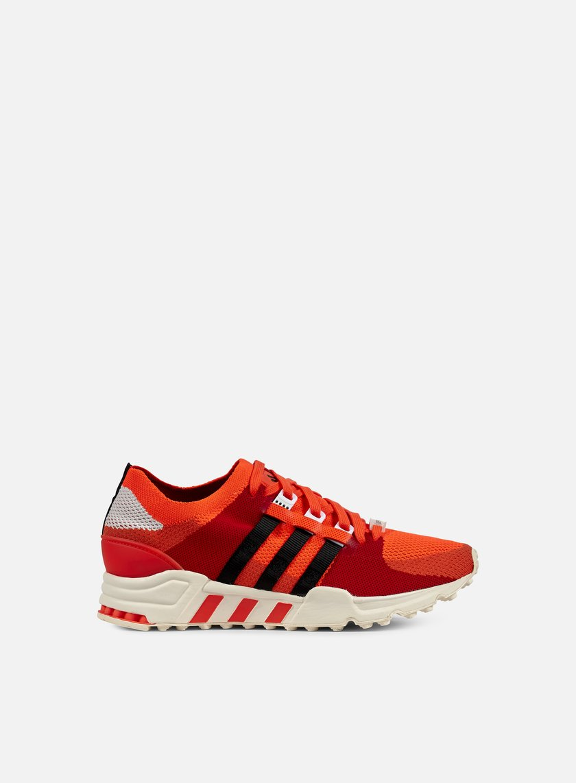 Adidas Originals - Equipment Support Primeknit, Solar Red/Black/Semi Solar Red