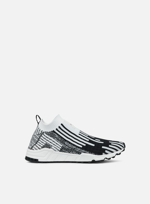 sneakers adidas originals equipment support sk primeknit ftwr white core black sub green