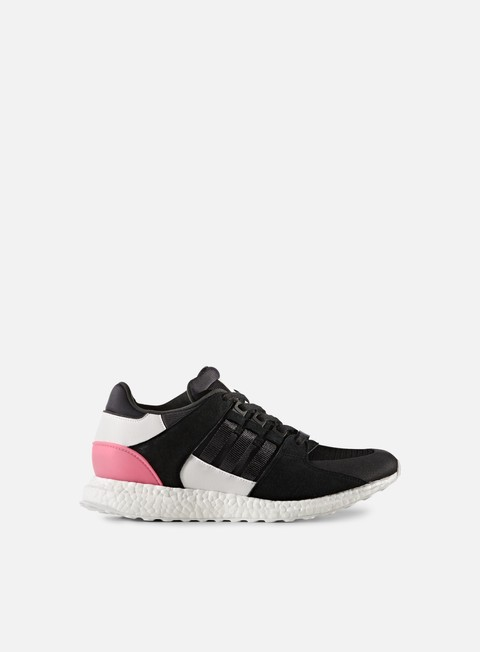 sneakers adidas originals equipment support ultra core black turbo red