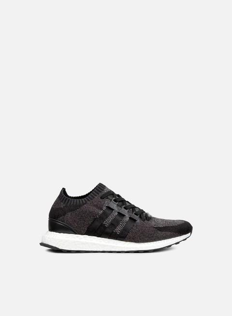 sneakers adidas originals equipment support ultra primeknit core black white