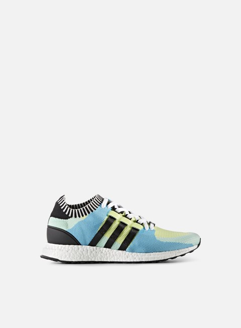 sneakers adidas originals equipment support ultra primeknit semi frozen yellow core black frozen