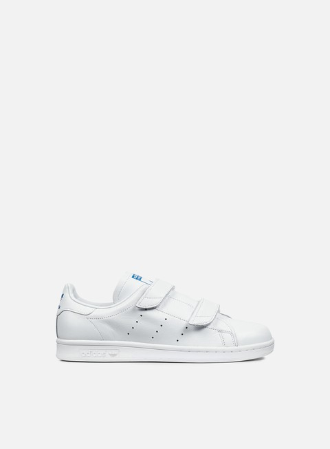 sneakers adidas originals fast white white blue bird