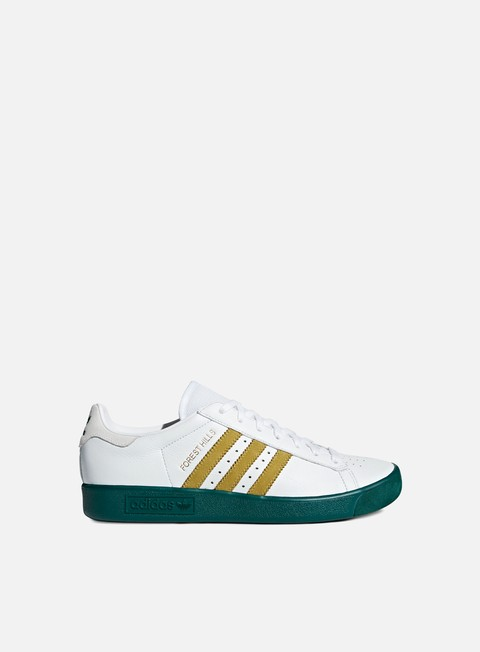sneakers adidas originals forest hills ftwr white gold metal collegiate green
