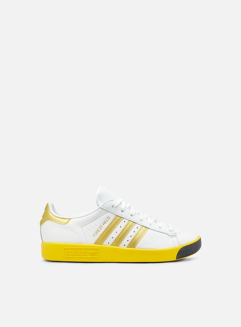 sneakers adidas originals forest hills white gold metallic eqt yellow