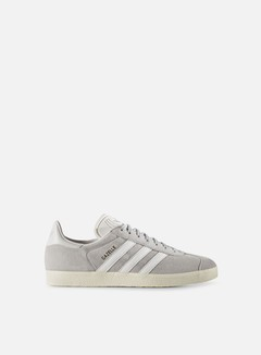 Adidas Originals - Gazelle, Clear Onix/White/Gold Metallic 1